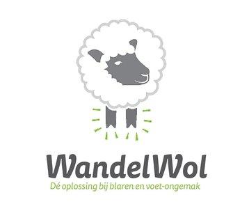 Het antidruk-product van WandelWol bestaat uit een melange van 100% schapenwol;